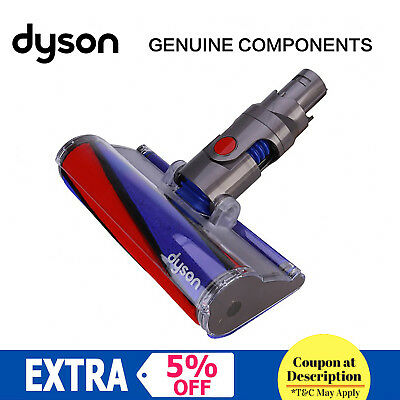 GENUINE DYSON V6 Fluffy Absolute Assembly SOFT ROLLER HEAD 966489-01 AU STOCK