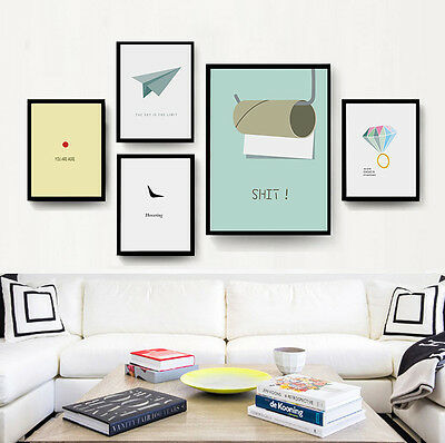 Motivational Quote Canvas Funny Poster Art Prints Modern Home Wall Decoration
