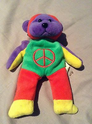 Skansen Beanie Kid Freeda The Peace Bear BK110