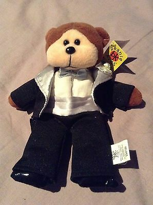 Skansen Beanie Kid Alex The Groom Bear BK461