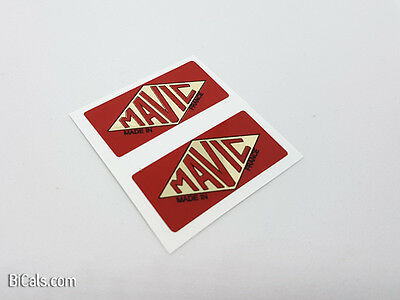 MAVIC Made in France decal sticker for rims - silk screen - free shipping