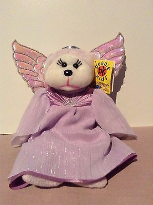 Skansen Beanie Kid Angie The Guardian Angel Bear BK767