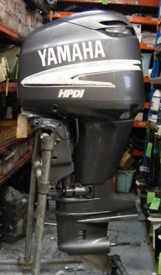 "2001 Yamaha 150 HP HPDI Outboard 25"" Shaft RH Engine Motor 2 Stroke 481 Hours"