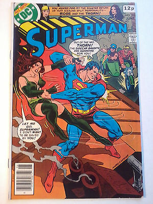SUPERMAN #336, DC Comics, 1979. Fn+ (features Rose and Thorn)