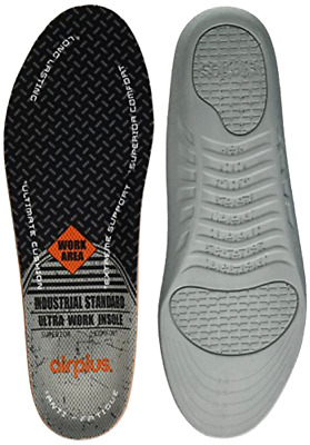 Airplus Ultra Work Memory Plus Insole Men's Size 7-13 Shoes Feet Support Insert