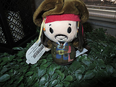 Hallmark Itty Bittys Disney LE Pirates of the Caribbean Captain Jack Sparrow NWT