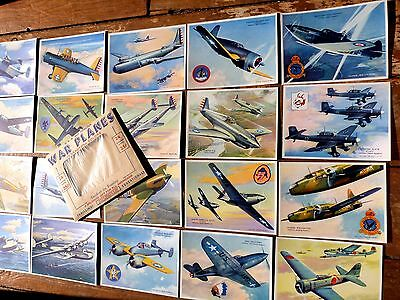 Charles Rosner Usa Warplanes Collection Complete 24 Richfield Oil Promo Card