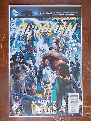 Aquaman 7 VF/NM to NM- (New 52) 1st Appearance of The Others