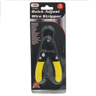 """Compact 5"""" Wire Stripper Cutter Electrical  Insulation Locking Adjustable (TM)"""