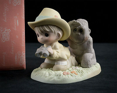 Precious Moments I'd Be Lost Without You Figurine 108592 w Box, 2002 Limited Ed