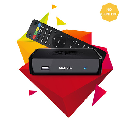 New Mag 254 W2 Infomir Original Media Streamer With Built-In Wi-Fi 600Mbps