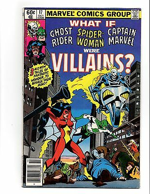 What If 17 Ghost Rider Spider-Woman Captain Marvel Were Villains Vol 1