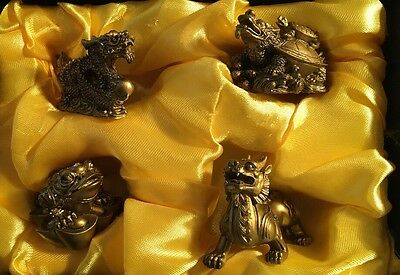 The Four Animals of Prosperity - New In Box - approx 3cm