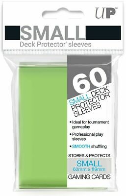 Ultra Pro Deck Protector Small Card Sleeves 60 x LIME GREEN YuGiOh Vanguard