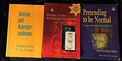 Lot Of 3 Asperger Syndrome Books