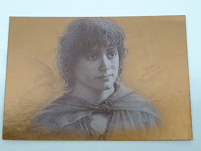 """Lord of the Rings Topps Masterpiece Series 1 Bronze Foil Card """"Frodo"""" #5 of 9"""