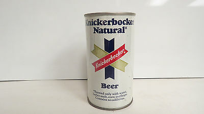 Knickerbocker Natural early pull tab beer can