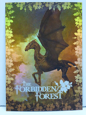 """Harry Potter Order of the Phoenix Artbox FoilCard """"Thestral/Forbidden Forest BT1"""