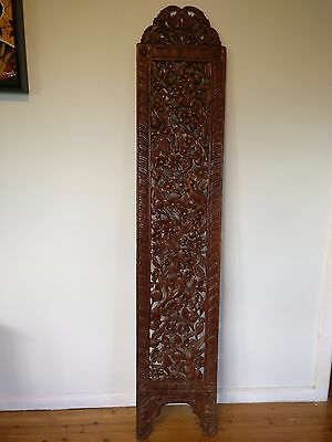 Malaysian Wooden Carved Decorative Plank