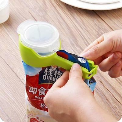 Plastic Food Storage Bag Sealing Clip Food Seal Pour Clamp With Large Nozzle 6A