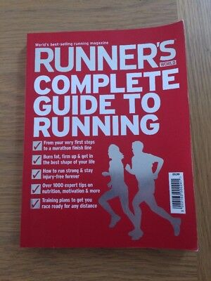 Runner's World - Complete Guide to Running - Paperback - in Great Condition