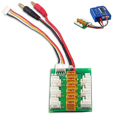 XT30 1S 2S 3S LiPo Parallel Charge Ladegerät Board Mit JST JST-PH 2.0 Connector