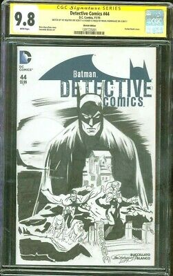 Batman Detective Comics 44 CGC SS 9.8 Issue 227 Nguyen Original art Top 1 sketch