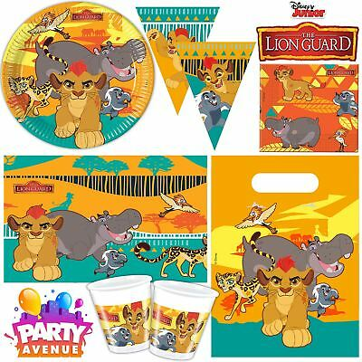 Disney Lion Guard Party Children's Birthday Tableware Decorations