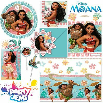 Disney Moana Party Birthday Children's Birthday Tableware Decorations