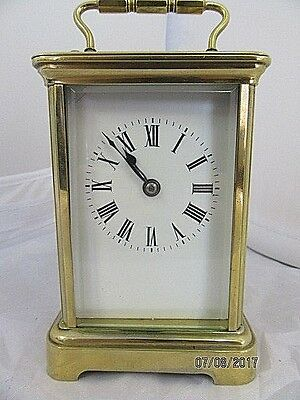 French Striking Carriage Clock C1890