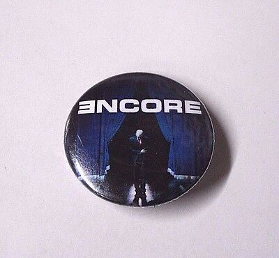 EMINEM Marshall Mathers ENCORE Album Cover LOGO 3.5cm PIN BADGE Button MUSIC