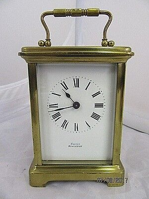French 8 day Carriage Clock C1900