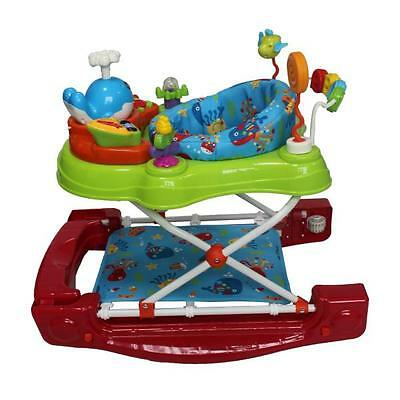 Red Kite Baby Walker Rocker Activity Play Centre Musical Toy Under the Sea