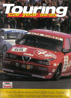 Touring Car Year Annual 1994-95 Review of 1994 Championship Tarquini Kaye Alfa +