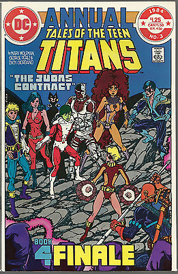 Tales of The Teen Titans Annual #3 2nd Appearance of Nightwing!! Mint