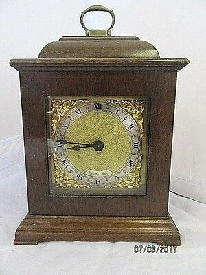 English 8 Day Miniature Bracket Clock