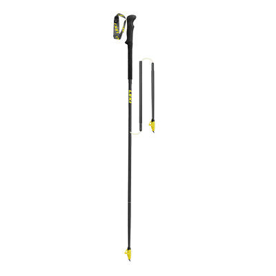 Leki Micro RCM Unisex Black Lightweight Outdoors Running Pole 120cm