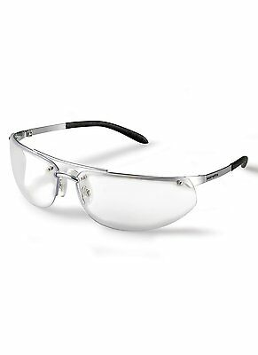 Scruffs Metal Safety Glasses Scratch Resistant Ce Rated Clear Lenses