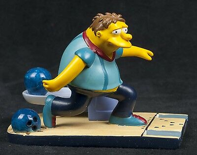 Simpsons Springfield Citizens Spilled Beer Bowling Hamilton Collection Sculpture