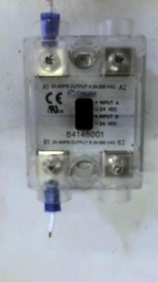 Crouzet Solid State Relay GN2 DUAL 25A 280VAC 24VDC 84146001