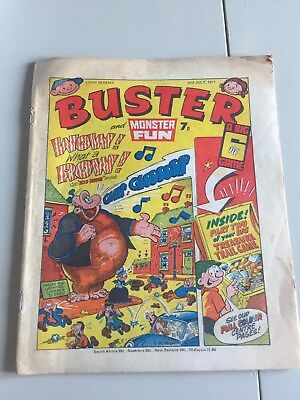 Buster Comic 1977