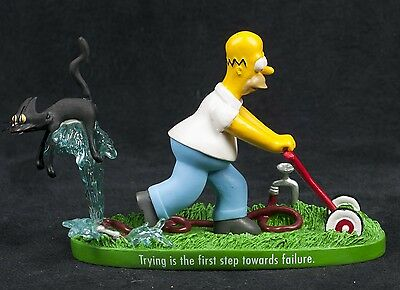 Simpsons Secret Success Trying First First Step Hamilton Collection Sculpture
