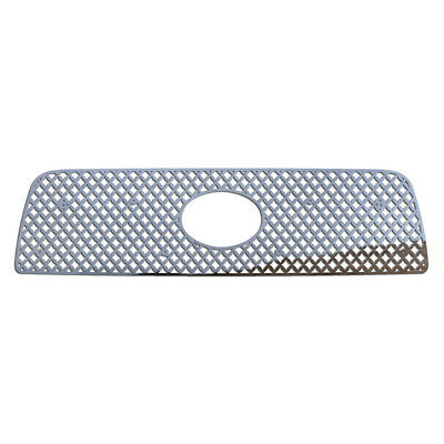 Grille Insert Guard Mesh Punch Polished Stainless fits: 07-09 Toyota Tundra