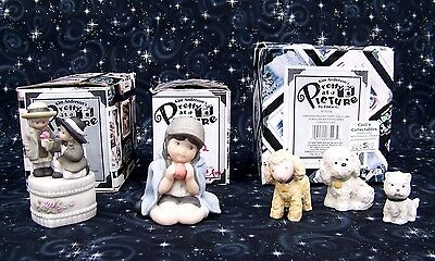 Lot (3) ENESCO  Kim Anderson Pretty as a Picture A Little Lot Of Tiny Treasures