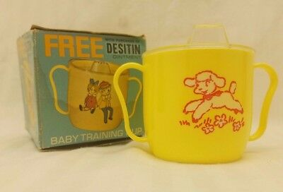 "DESITIN OINTMENT Vintage Baby Kids Sippy Cup Mug - ""FREE"" PROMO ITEM"