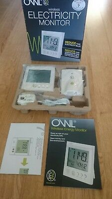 Owl Wireless Electricity Monitor New