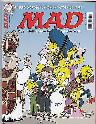 Mad # 136 Variant / Simpsons - Comic Action 2010 - Top