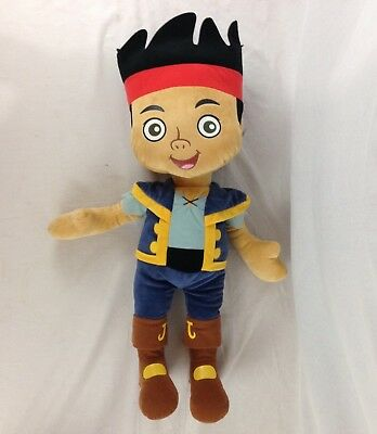 "NWT Just Play Disney Jr Jake and the Neverland Pirates 26"" Giant Plush Toy"