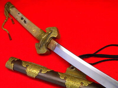 "Impressive 19th C. Japanese Samurai TACHI Katana Sword with 31"" Blade WOW !!!"