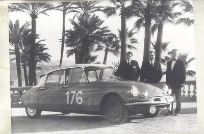 1966 ? Citroen DS Monte Carlo Rally ORIGINAL Factory Photograph wy3224